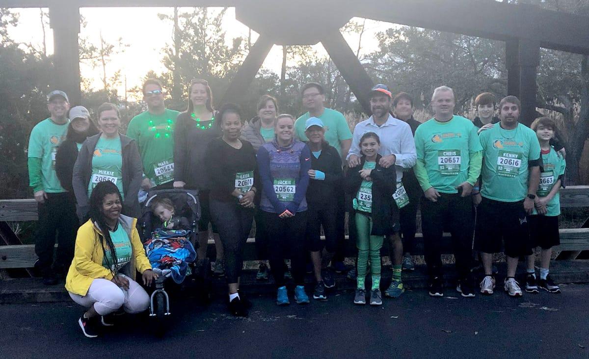 Shamrock Marathon participants