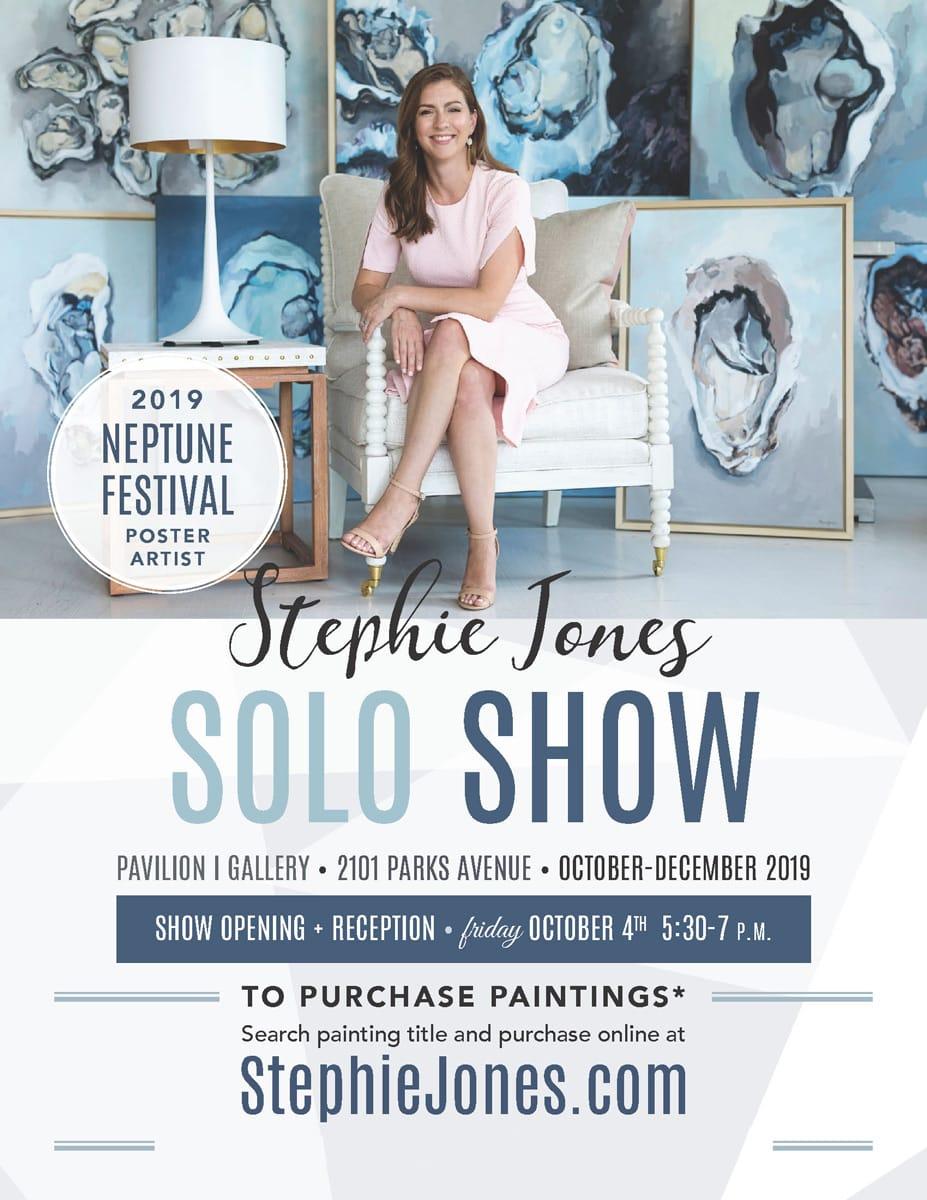 Stephie Jones Flyer Runnymede 2019